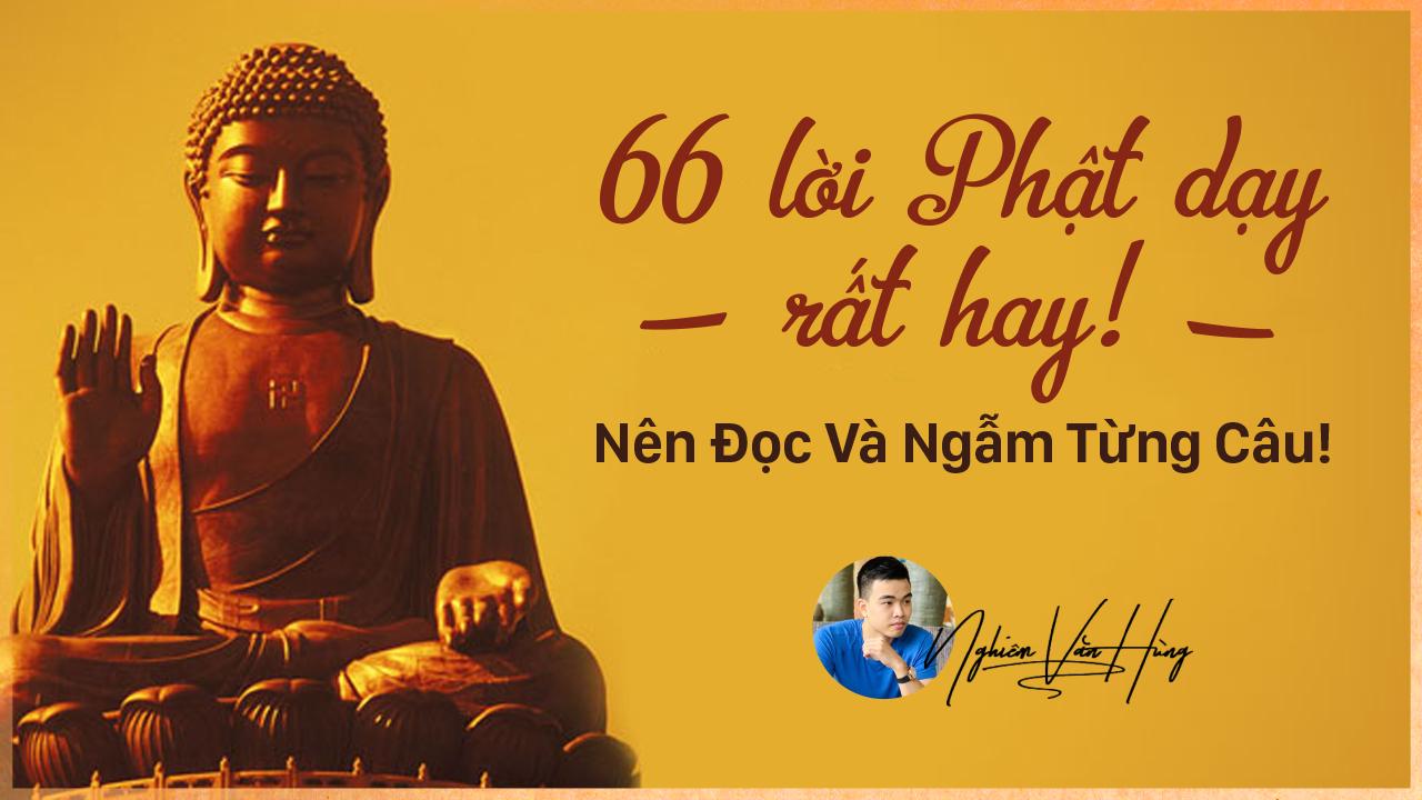 66 lời Phật dạy rất hay! - Nên Đọc Và Ngẫm Từng Câu!